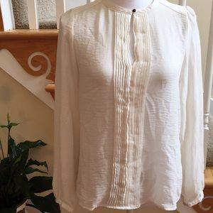 ZARA Basic Silk Blouse